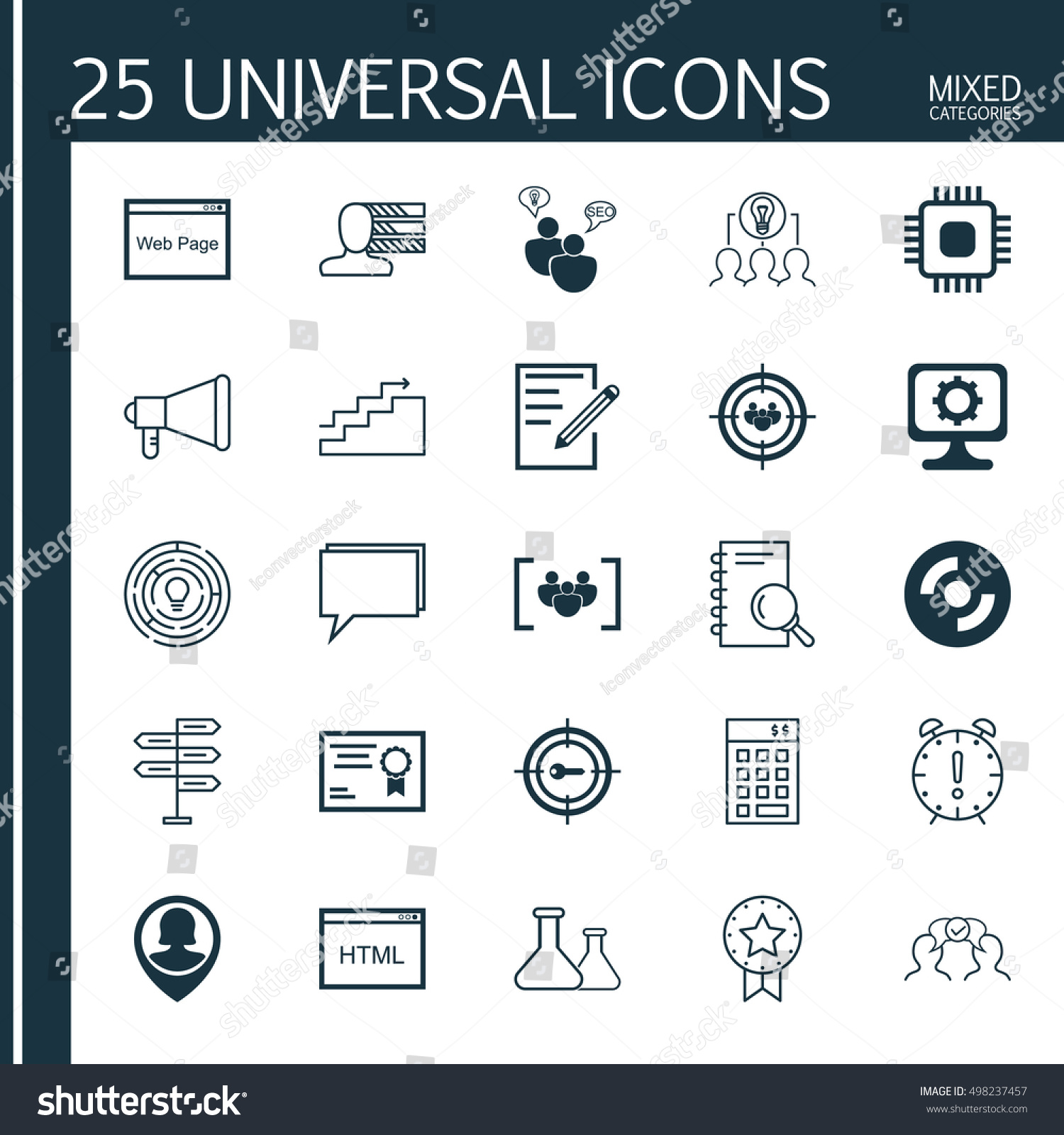 set of 25 universal icons on personal skills website keyword set of 25 universal icons on personal skills website keyword marketing and more topics