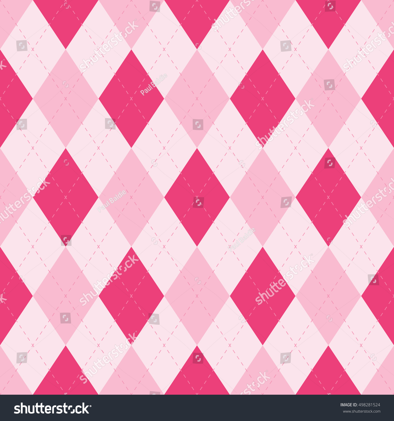 Seamless Argyle Sweater Fabric Stitches Pattern Stock Vector ...