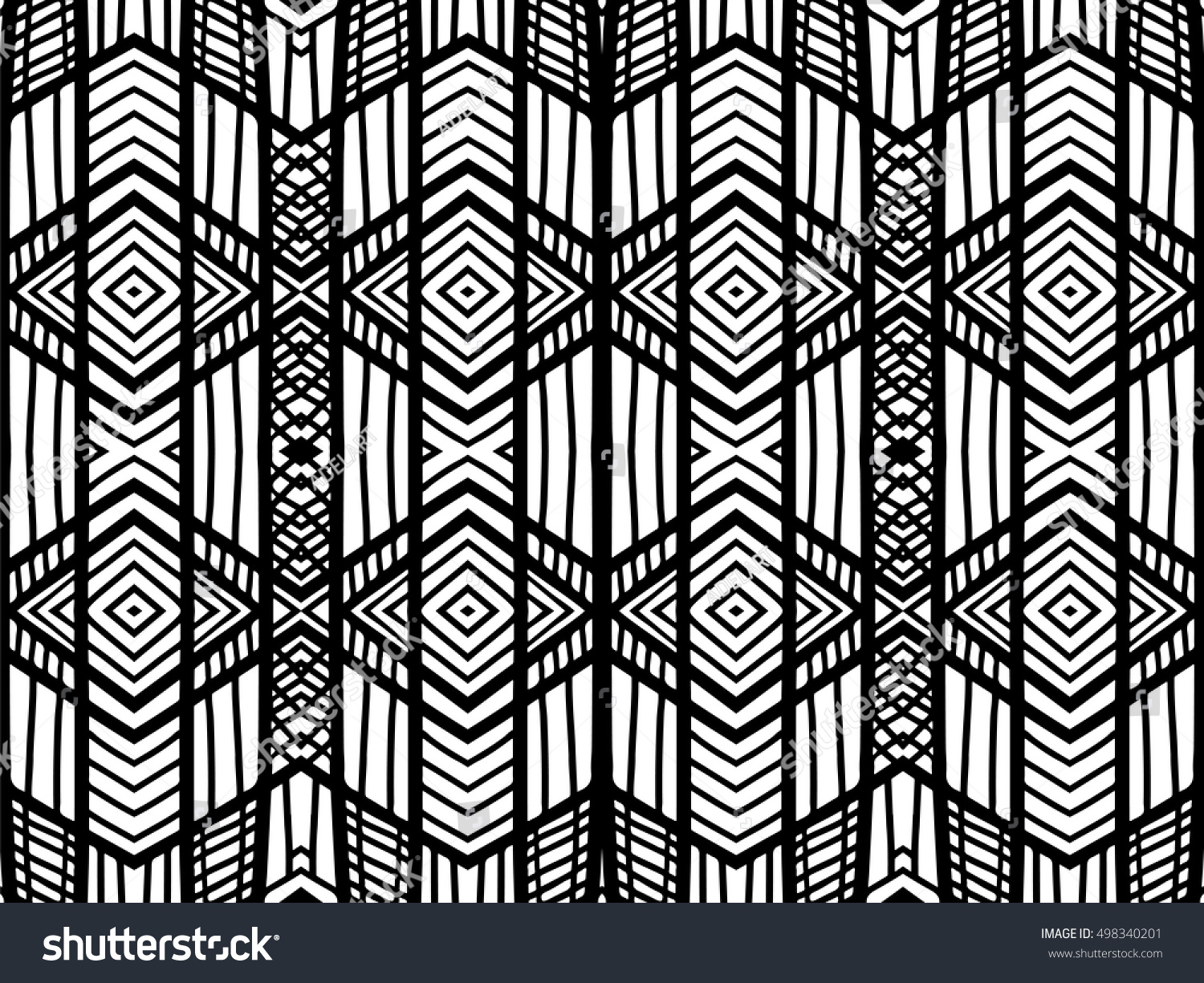 Abstract Background Black White Texture Geometric Stock Vector ... for Geometric Shapes Design Black And White  599kxo