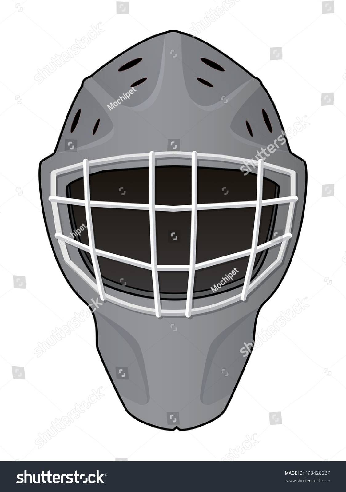 Goalie mask template official custom template sheets for Bauer goalie mask template