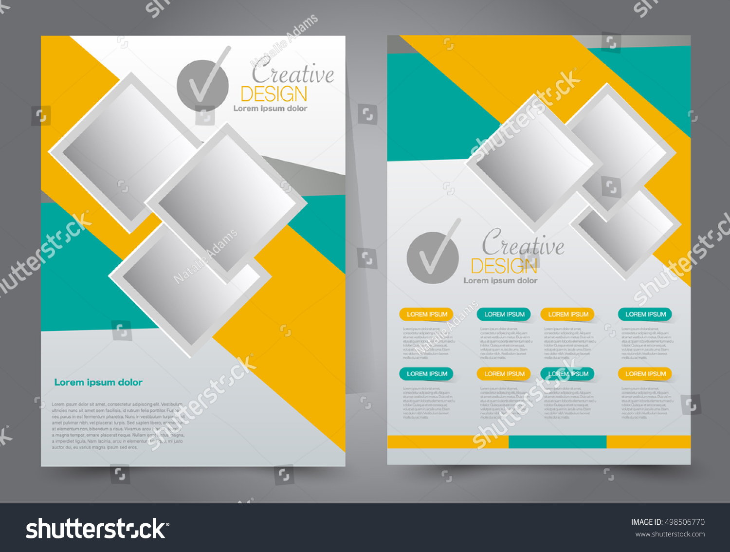 Poster design education - Brochure Template Business Flyer Annual Report Cover Editable A4 Poster For Design