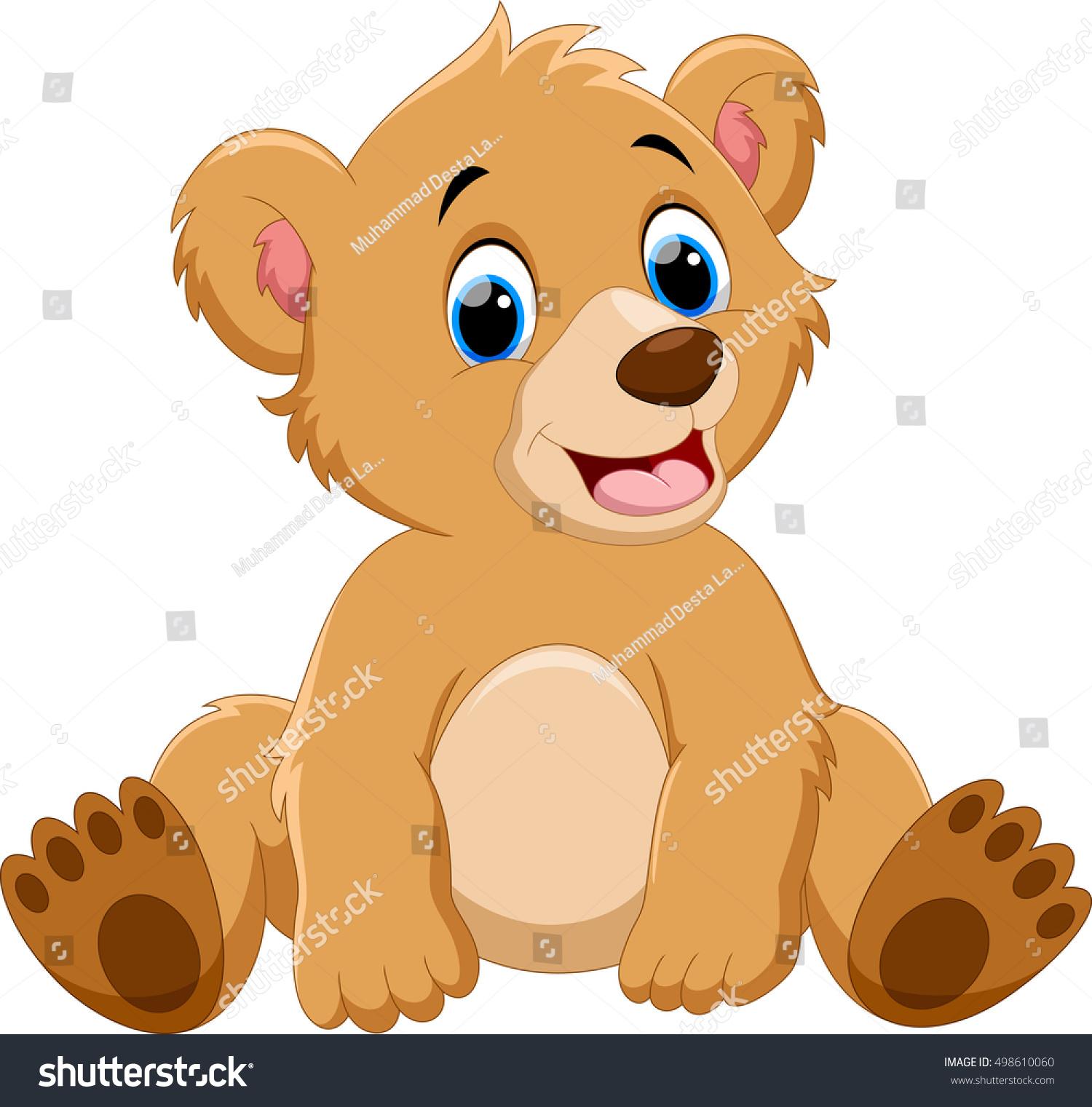 cute cartoon baby grizzly bear www imgkid com the Teddy Grahams Teddy Bear Baby Cub
