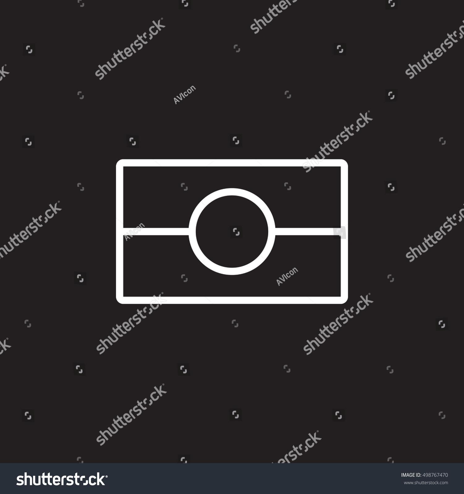 Biometric passport symbol. ePassport line icon, outline vector sign, linear  pictogram isolated on