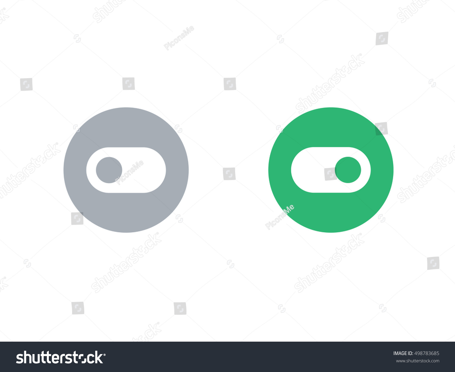 Abstract Green Circle Ecology Symbol Clean Organic Icon Letter O