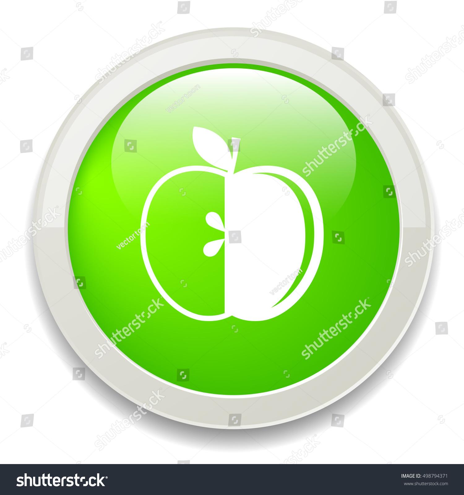 Apple Symbol Stock Vector Royalty Free 498794371 Shutterstock