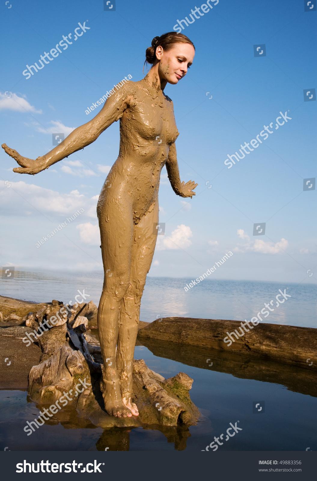 Nude People In Mud  Hot Girl Hd Wallpaper-1523