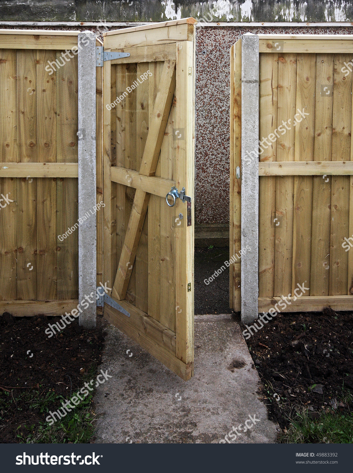 Wooden garden gates for sale - Wooden Garden Gate And Fence Preview Save To A Lightbox