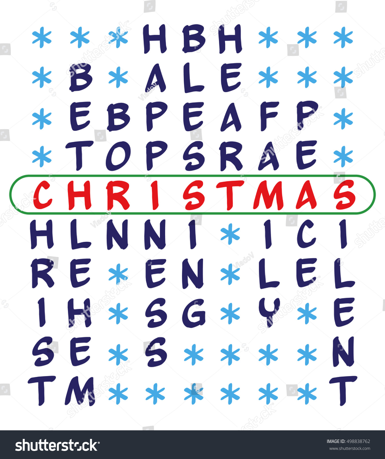 Christmas background crossword puzzle word christmas stock vector crossword puzzle for the word christmas and related words christ bethlehem biocorpaavc