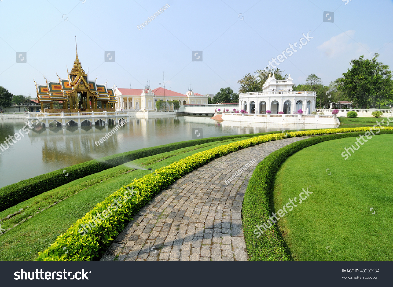 A Palace For The King Of ThailandPangpaint