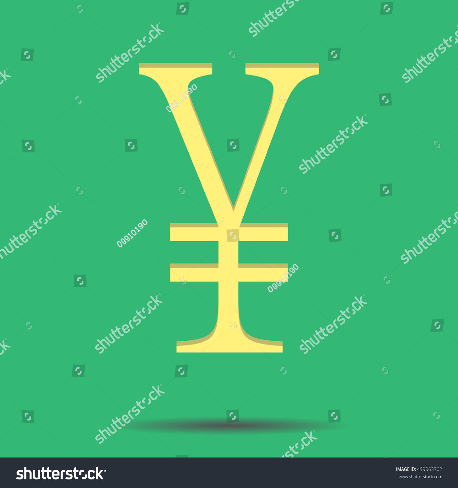 Sign chinese yuan chinese currency renminbi stock vector 499063702 chinese currency renminbi and chinese money vector illustration buycottarizona Gallery