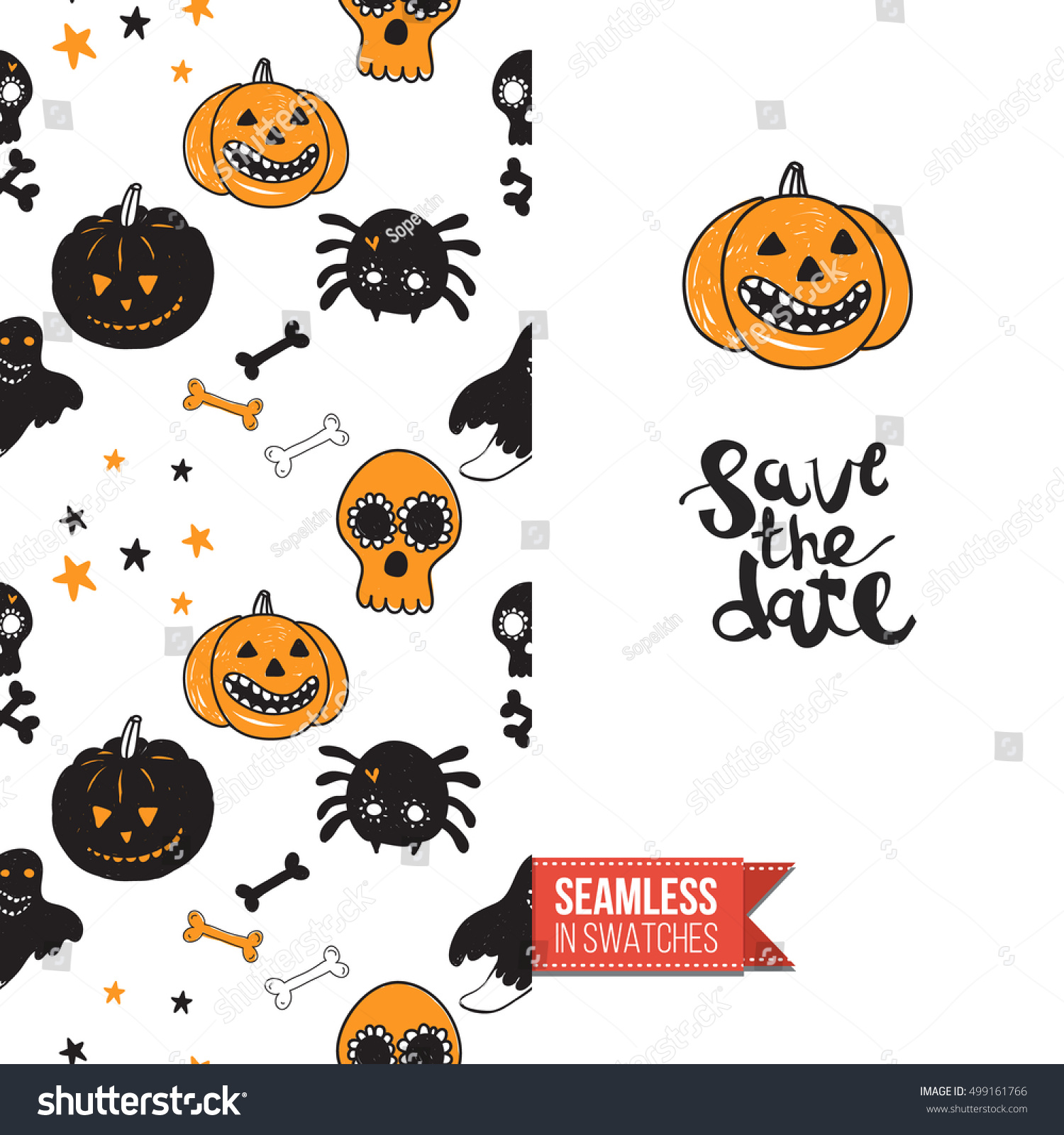 Uncategorized Halloween Symbolism minimalistic style greeting card halloween inspired stock vector for by spooky symbolism seamless pattern with stylized