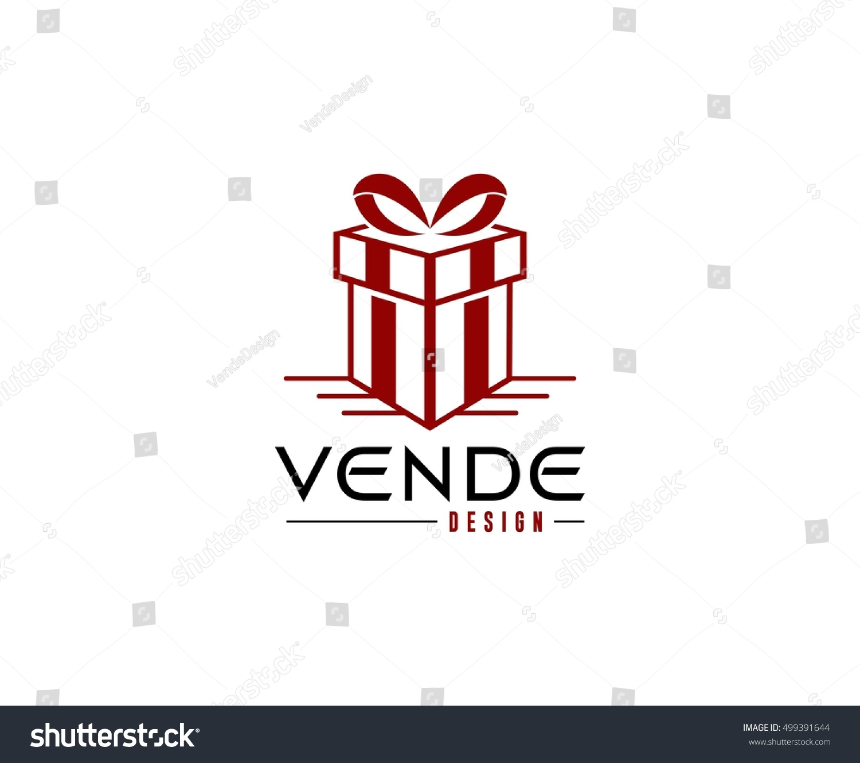 gift logo stock vector 499391644 shutterstock