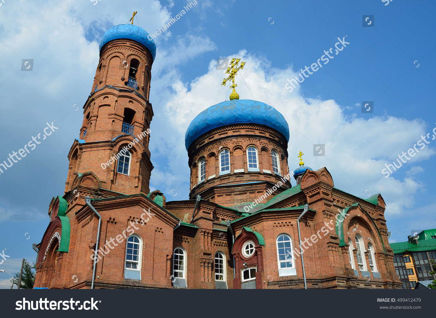 Pokrovsky Cathedral of Barnaul - shrine of the Altai Territory