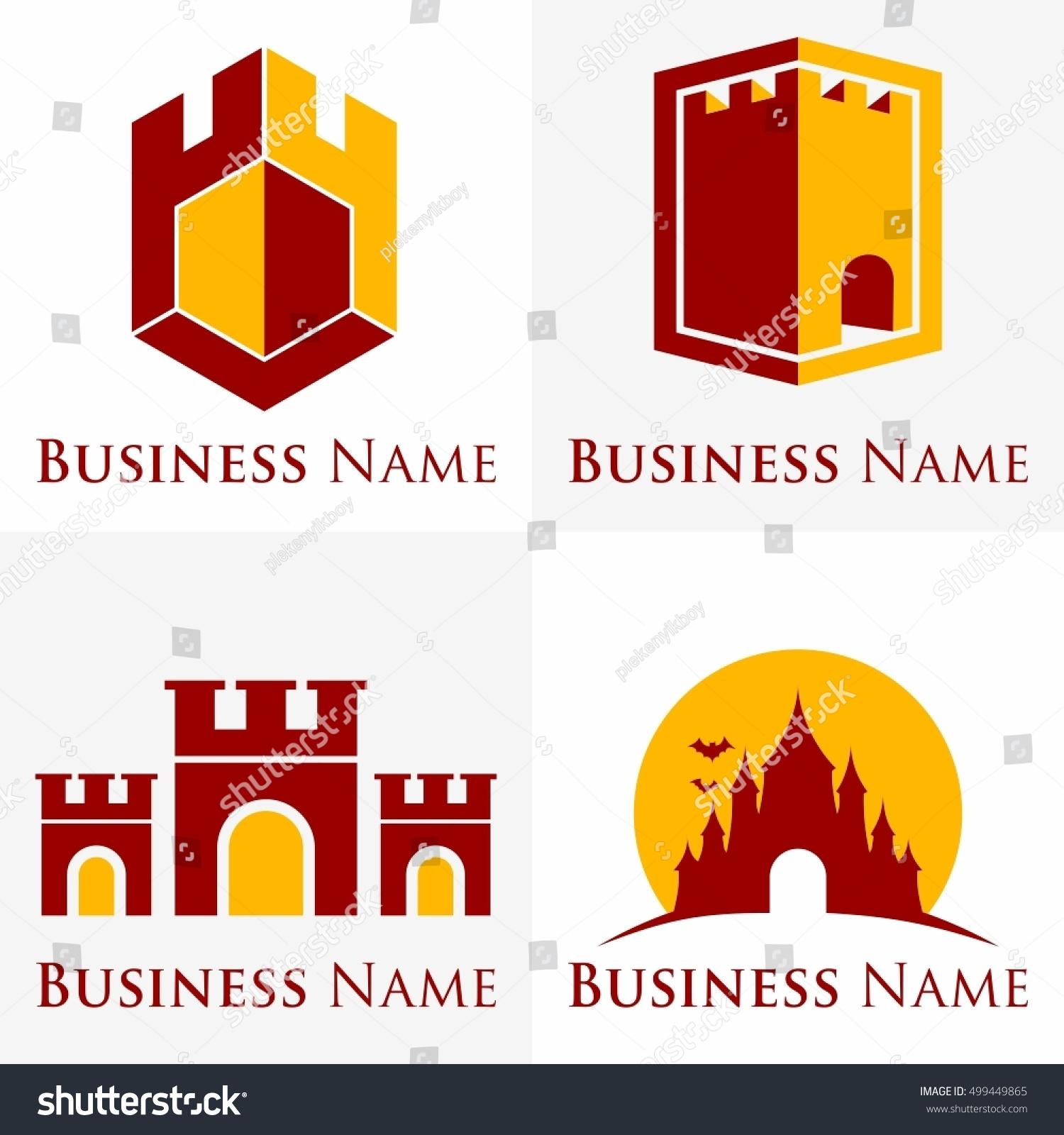 castle logo set packs