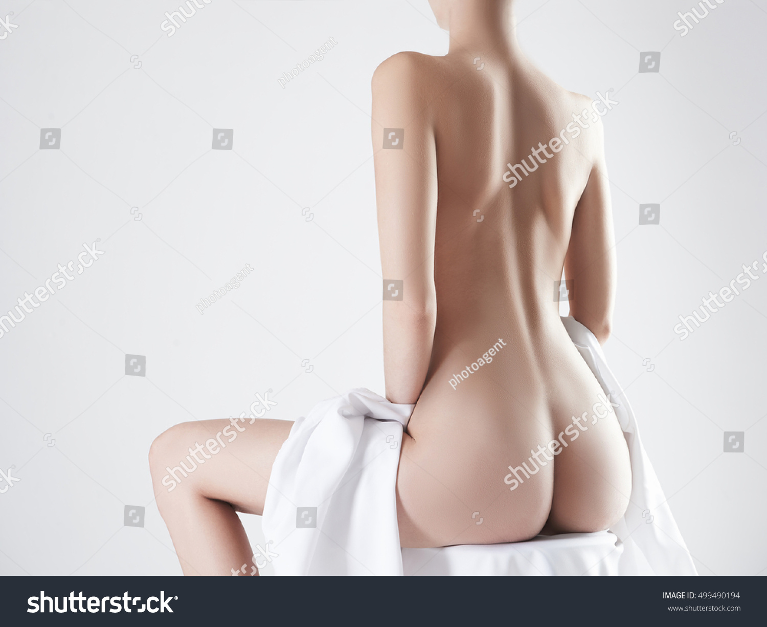 Nude Booty nude beauty young woman naked sexy stock photo (edit now