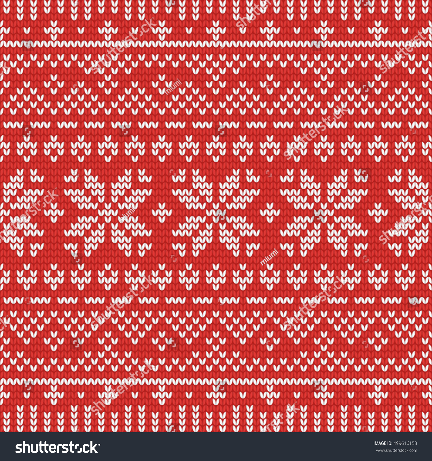 Knitting Pattern Paper : Christmas Knitting Seamless Pattern With . Perfect For Wallpaper, Wrapping Pa...