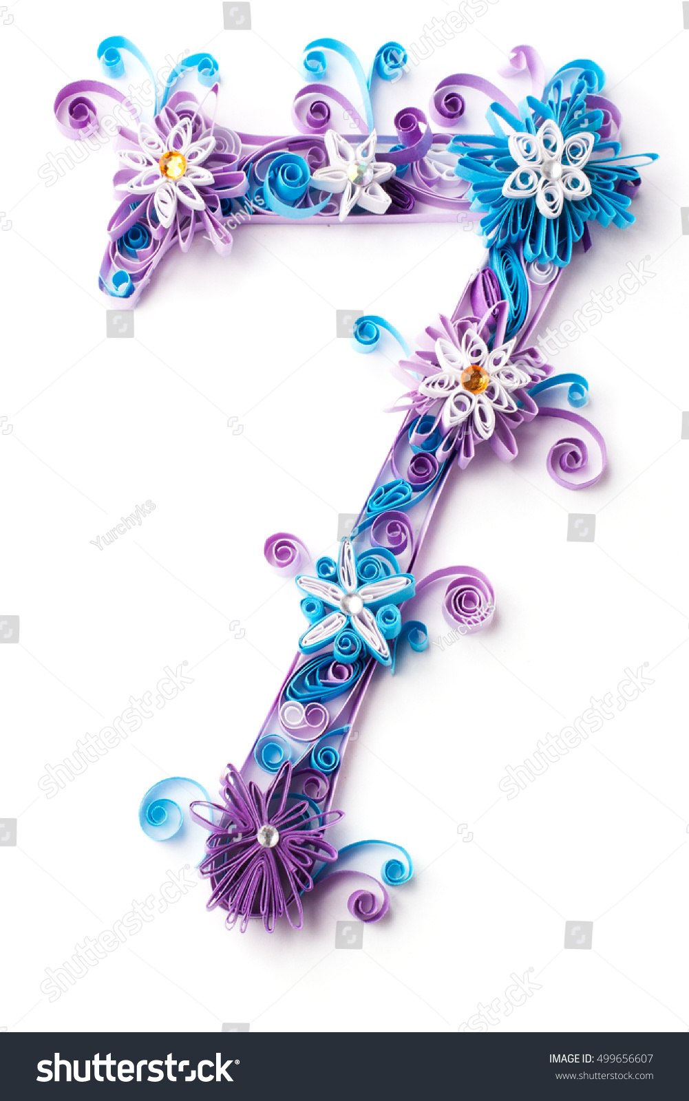 Frozen Christmas Paper Letter Winter Alphabet Stock Photo Royalty