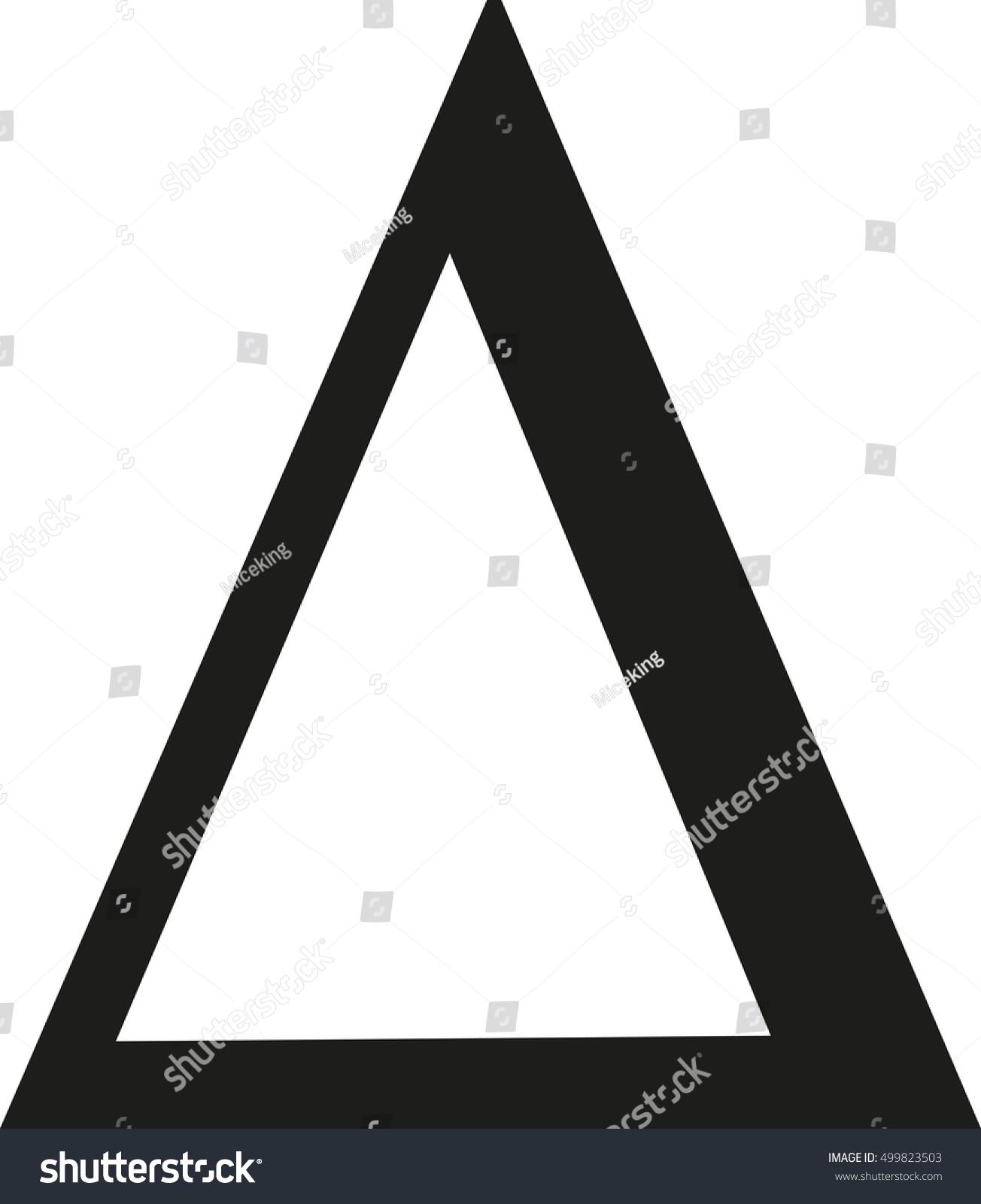 Delta sign stock vector 499823503 shutterstock delta sign biocorpaavc Gallery