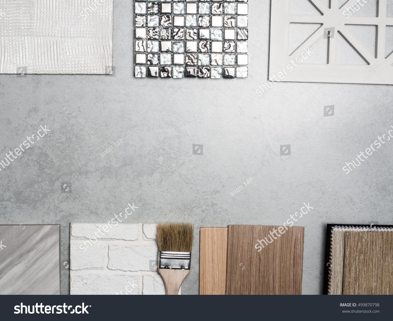 Samples Material Concept Interior Design Stock Photo 499870798 Shutterstock