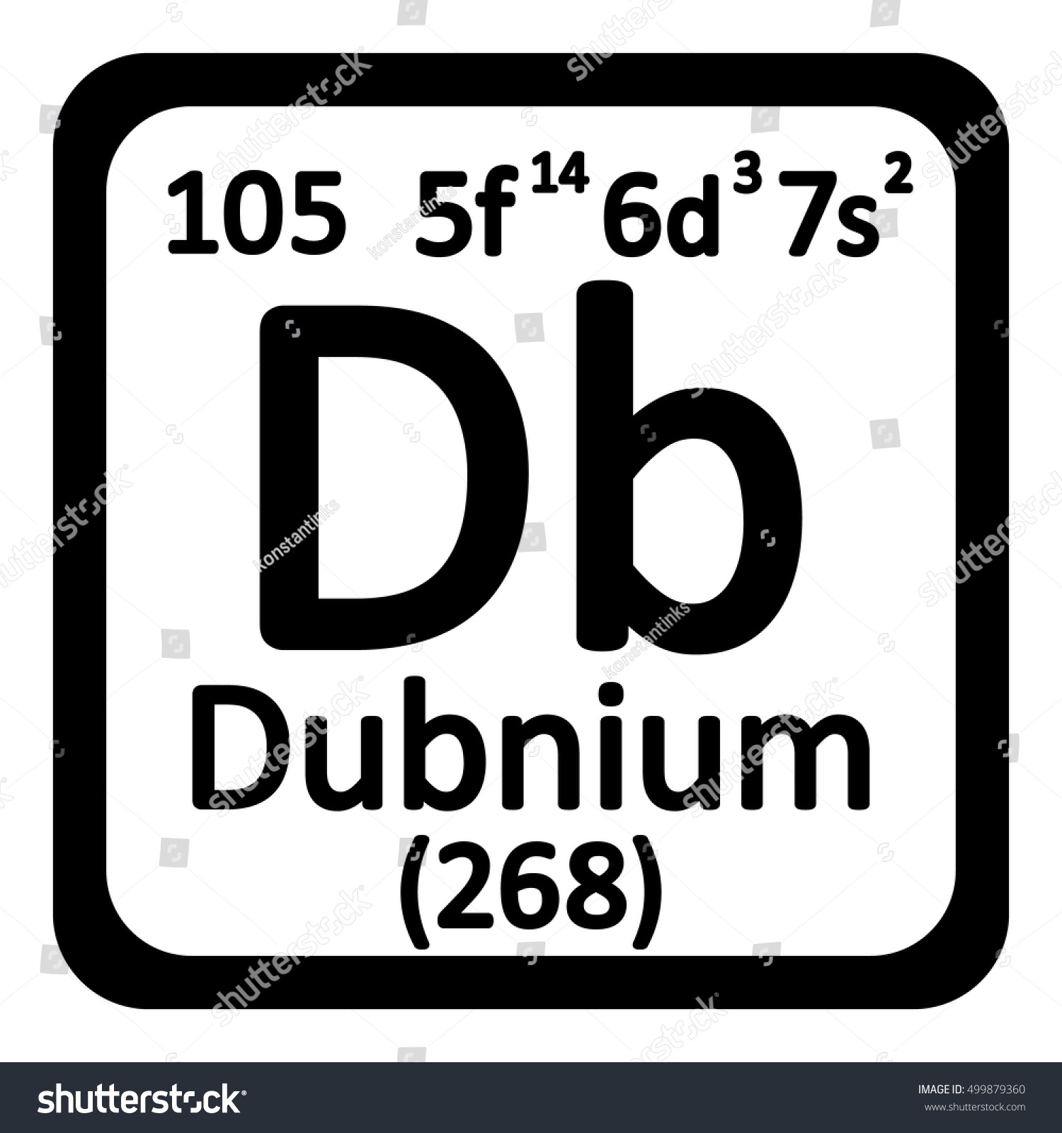 Dubnium periodic table image collections periodic table images periodic table element dubnium icon on stock vector 499879360 periodic table element dubnium icon on white gamestrikefo Choice Image