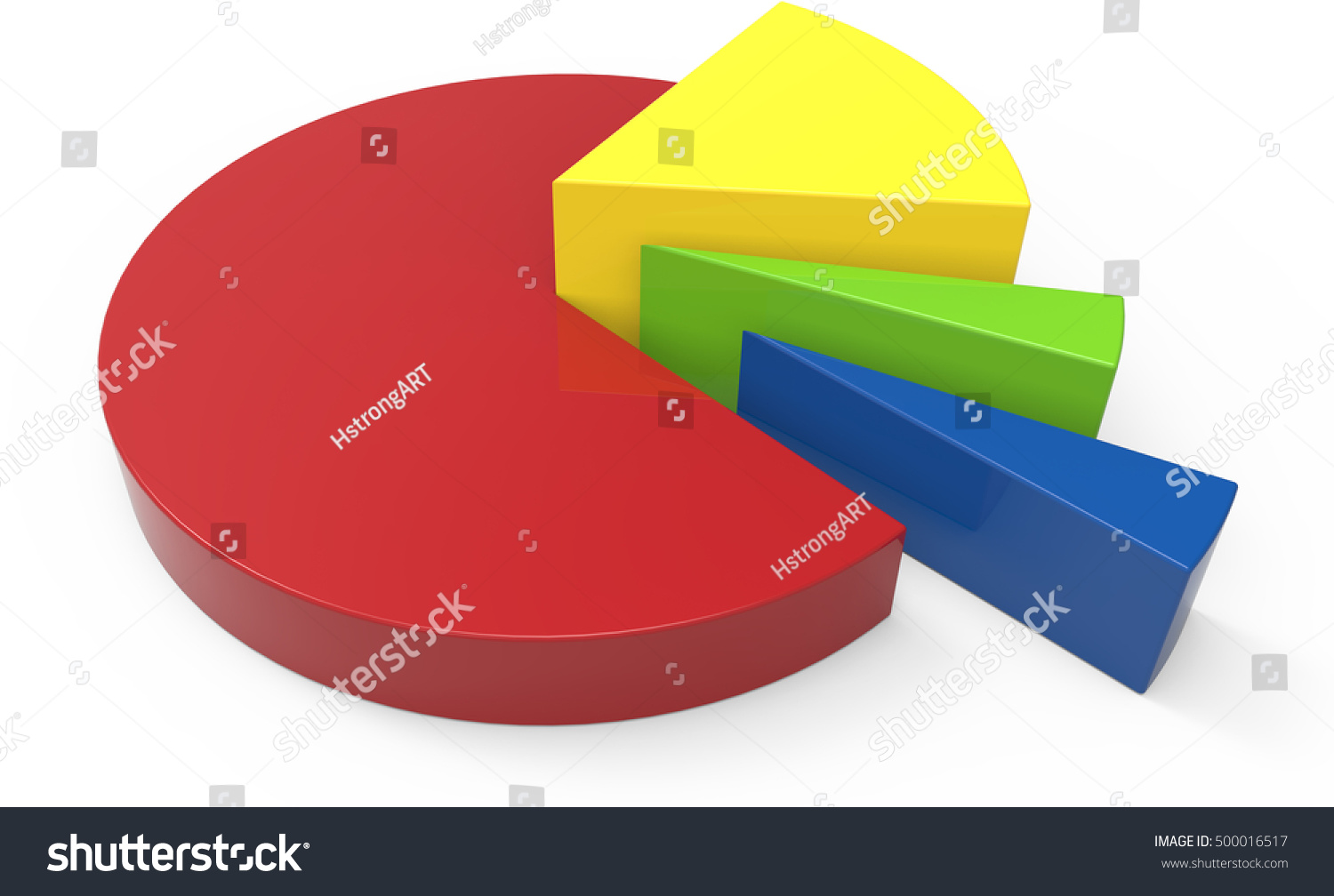 3d rendering colorful pie chart model stock illustration 500016517 3d rendering colorful pie chart model isolated white background geenschuldenfo Image collections