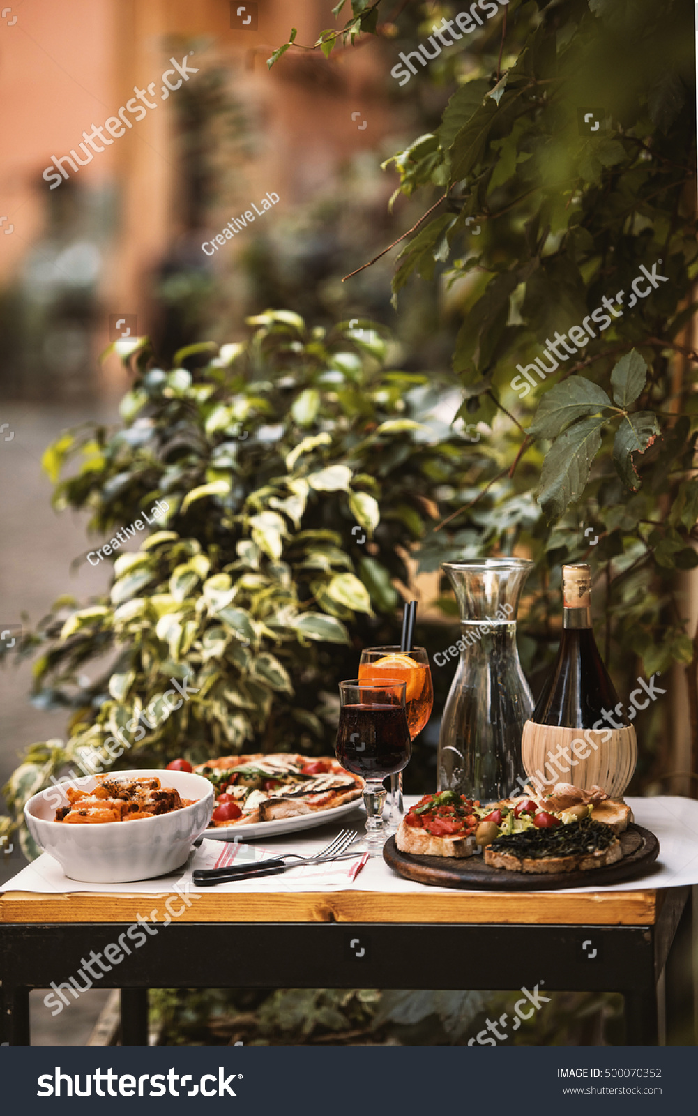 Italian Food Stock Photo 500070352