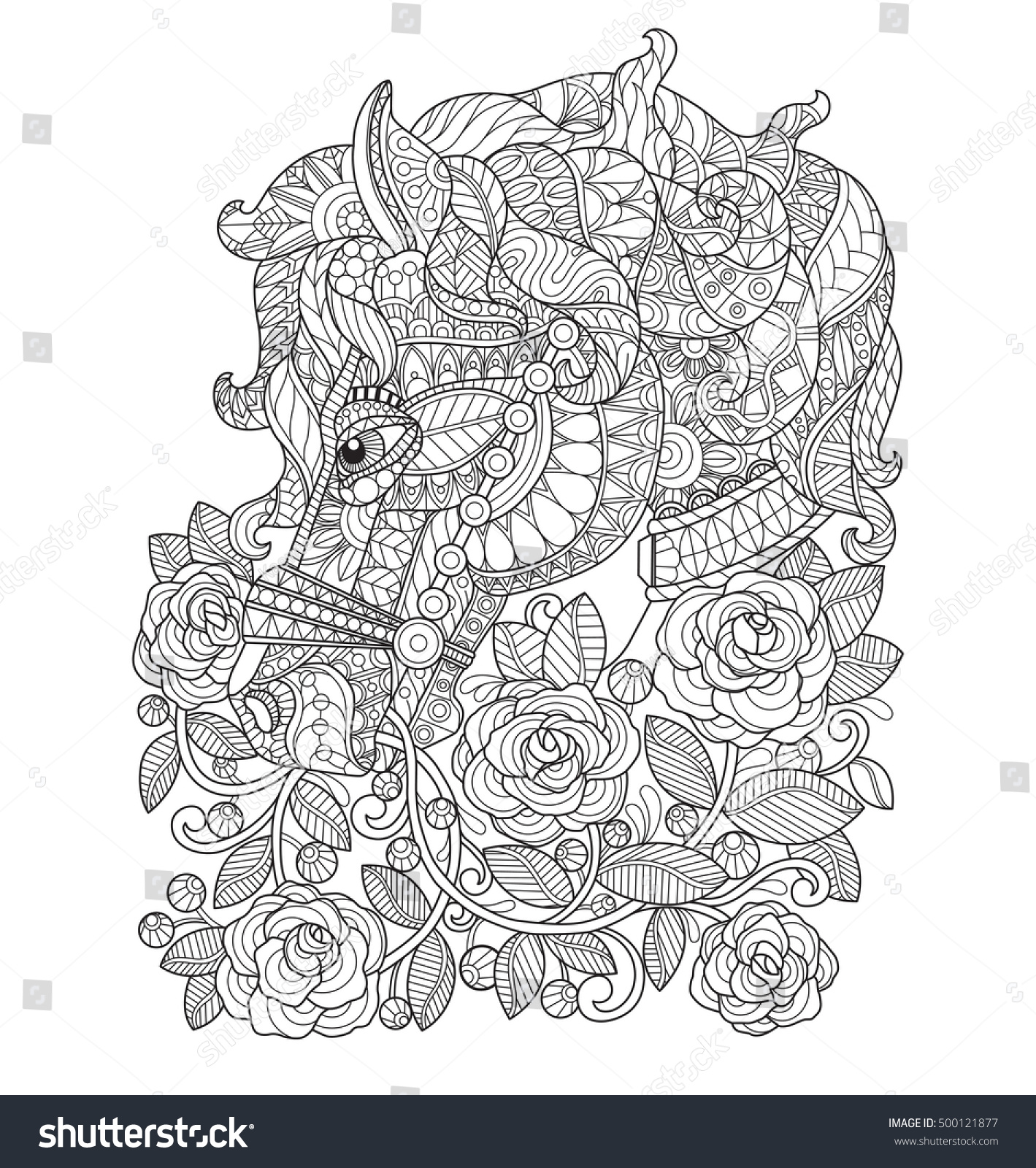 Mesmerizing Horse Rose Garden Zentangle Stylized Cartoon Stock Vector  With Entrancing Horse In The Rose Garden Zentangle Stylized Cartoon Isolated On White  Background Hand Drawn With Astounding Stone Pineapple Garden Ornament Also Busch Gardens Serengeti Safari In Addition Cat Safe Garden And Solar Garden Fairy Lights As Well As Gardening Help Additionally Dr Martens Covent Garden From Mshutterstockcom With   Entrancing Horse Rose Garden Zentangle Stylized Cartoon Stock Vector  With Astounding Horse In The Rose Garden Zentangle Stylized Cartoon Isolated On White  Background Hand Drawn And Mesmerizing Stone Pineapple Garden Ornament Also Busch Gardens Serengeti Safari In Addition Cat Safe Garden From Mshutterstockcom