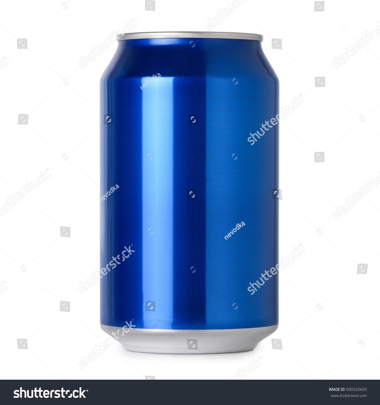 blank blue soda can - photo #5