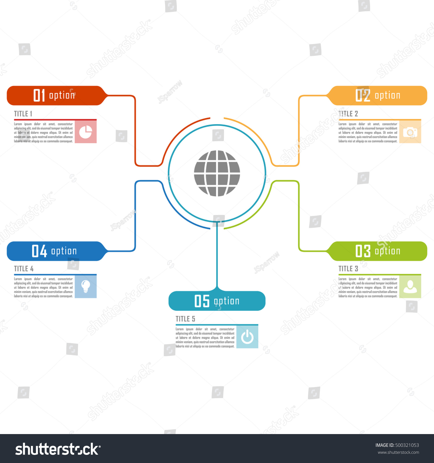 Infographic Timeline Template Can Be Used Vector 500321053 – Advertising Timeline Template