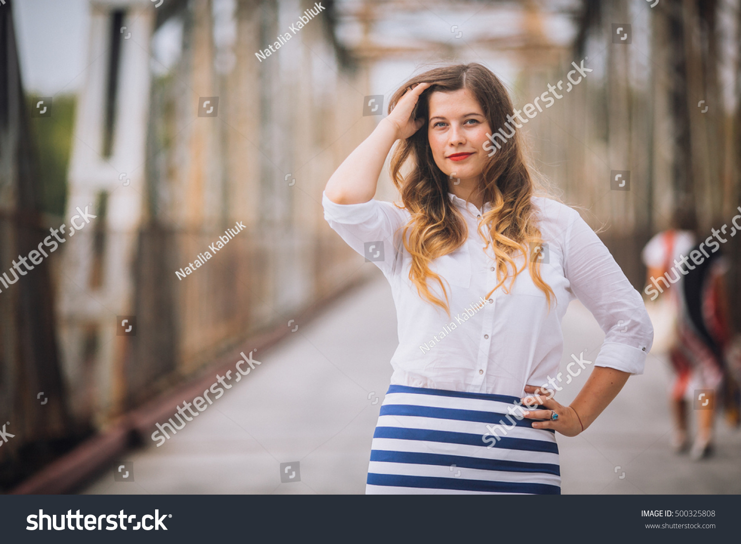 Royalty Free Very Beautiful Young Girl Is A Teenager 500325808
