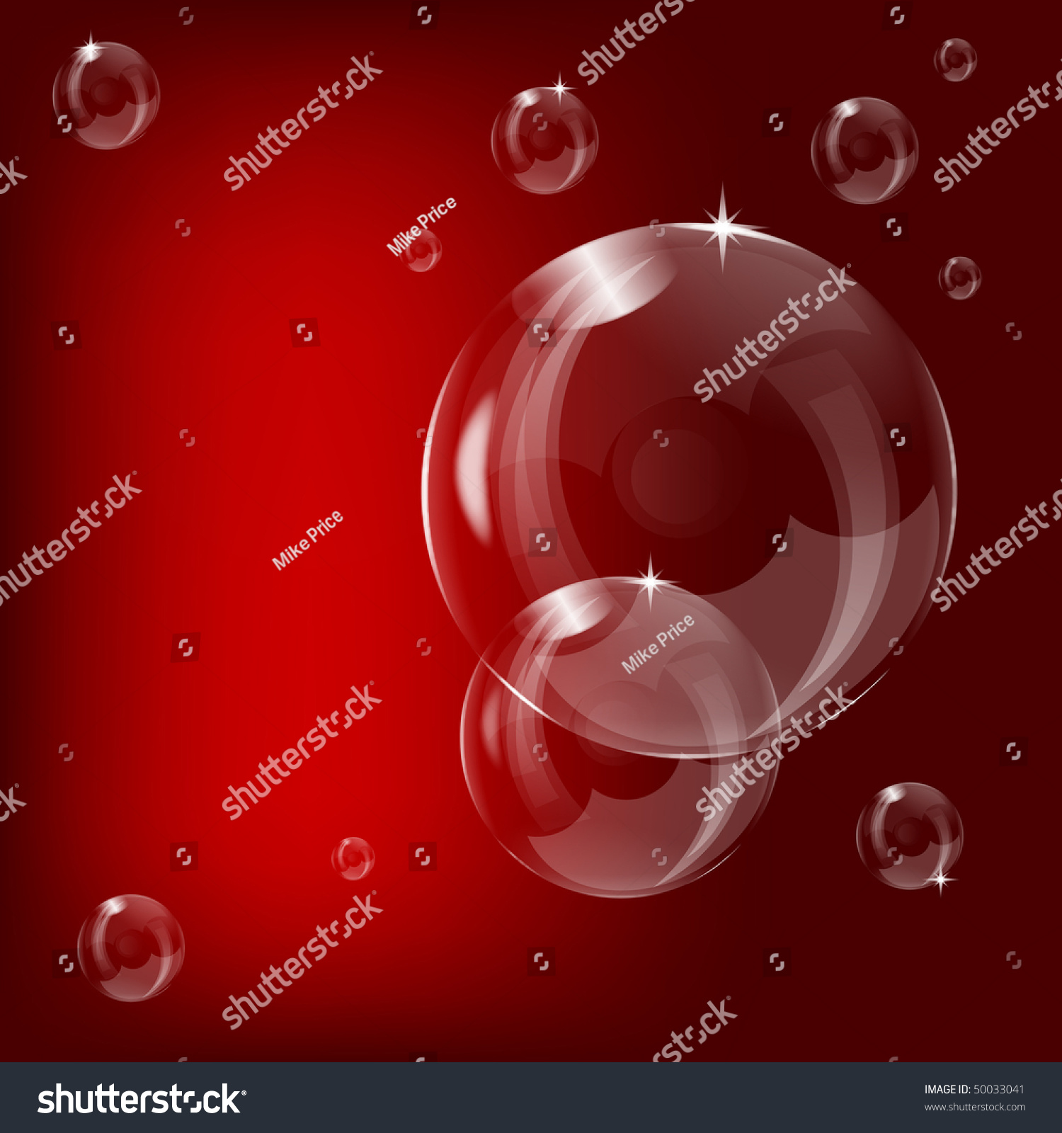 Soap bubble background download free vector art stock graphics -  Vectors Illustrations Footage Music A Transparent Soap Bubble Design On A Red Background With Room For Text