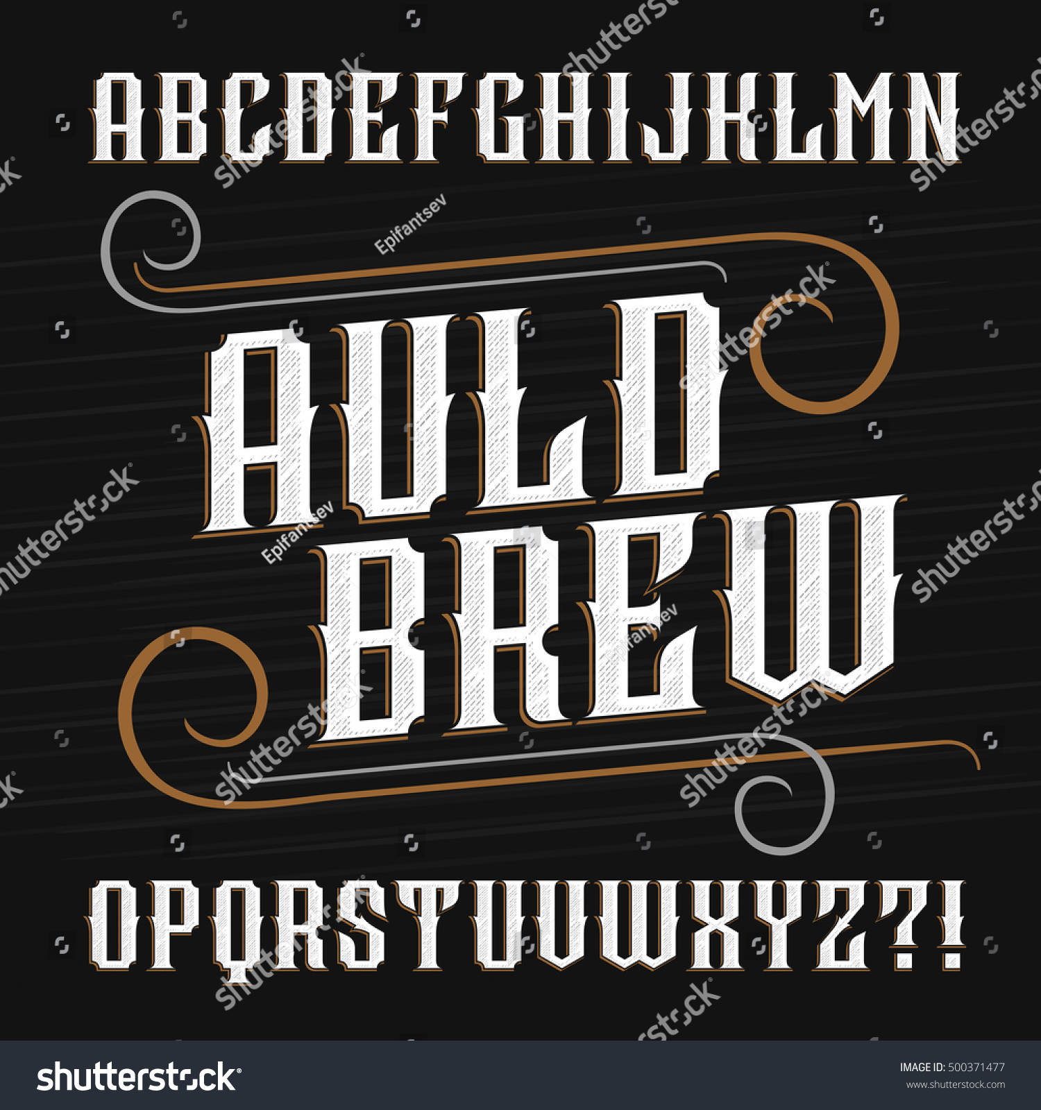 riot letters on antique poster stock photos image 35329363 vintage alphabet font ornate letters labels stock vector 124