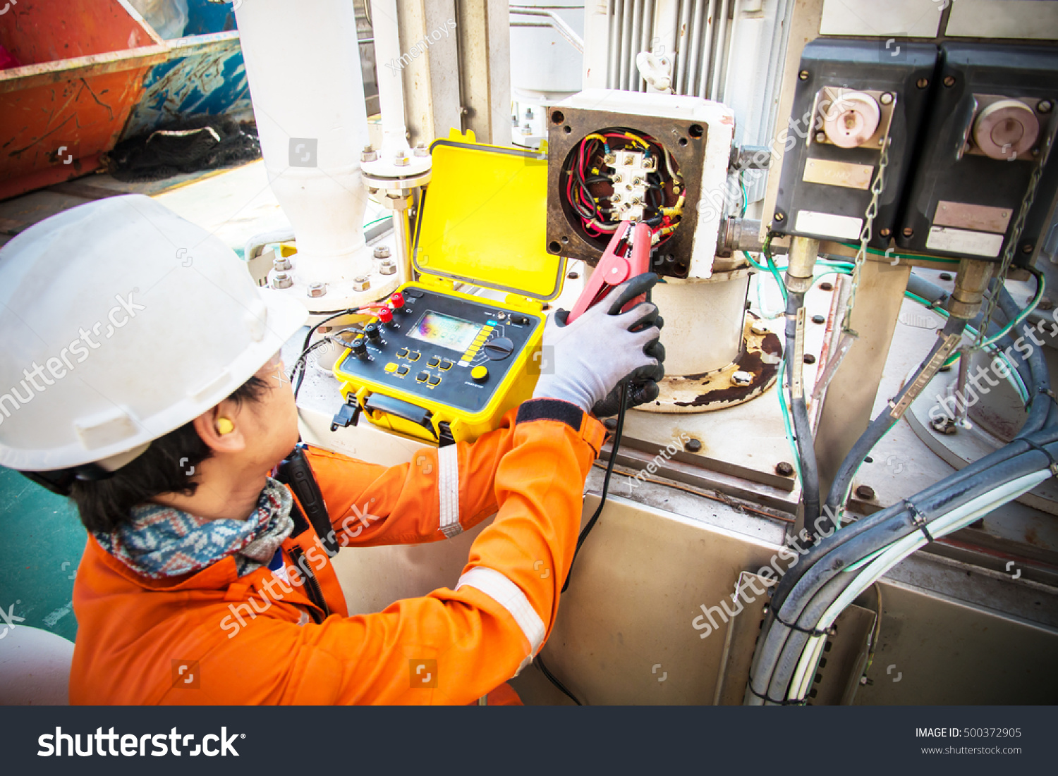 Technicianelectrical technician perform working electrical for Castellano electric motors inc