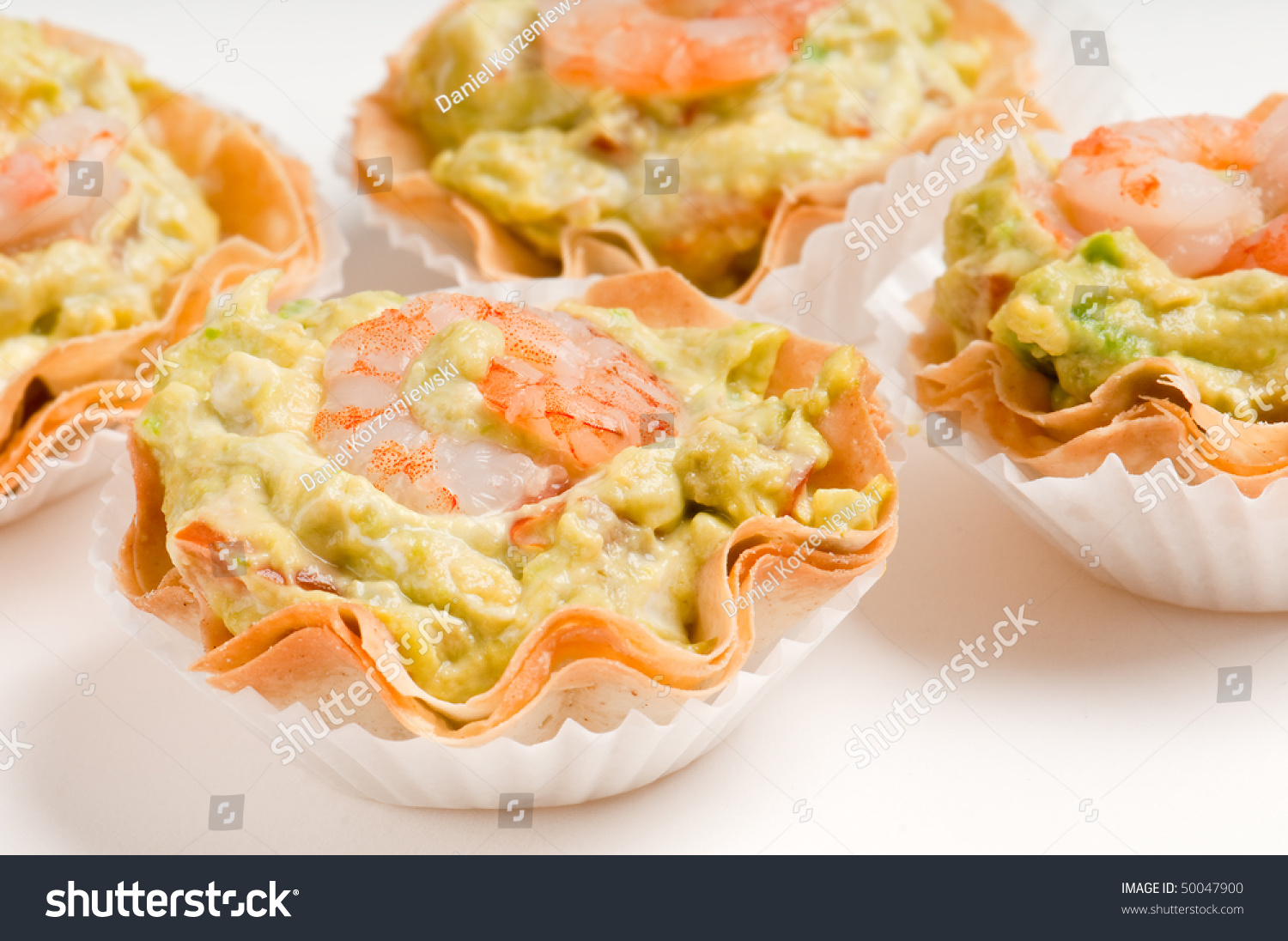 Group avocado and shrimp volauvent volauvent is a tiny for Canape meaning in english