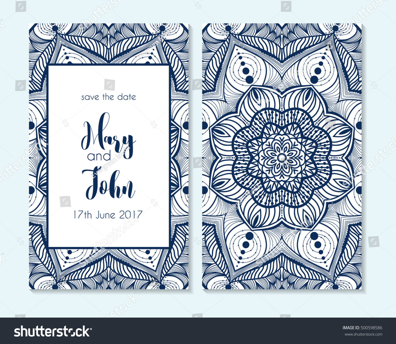 Rustic vintage pastel template design layout stock vector 500598586 rustic vintage pastel template design layout for wedding invitation thank you card save the stopboris Choice Image