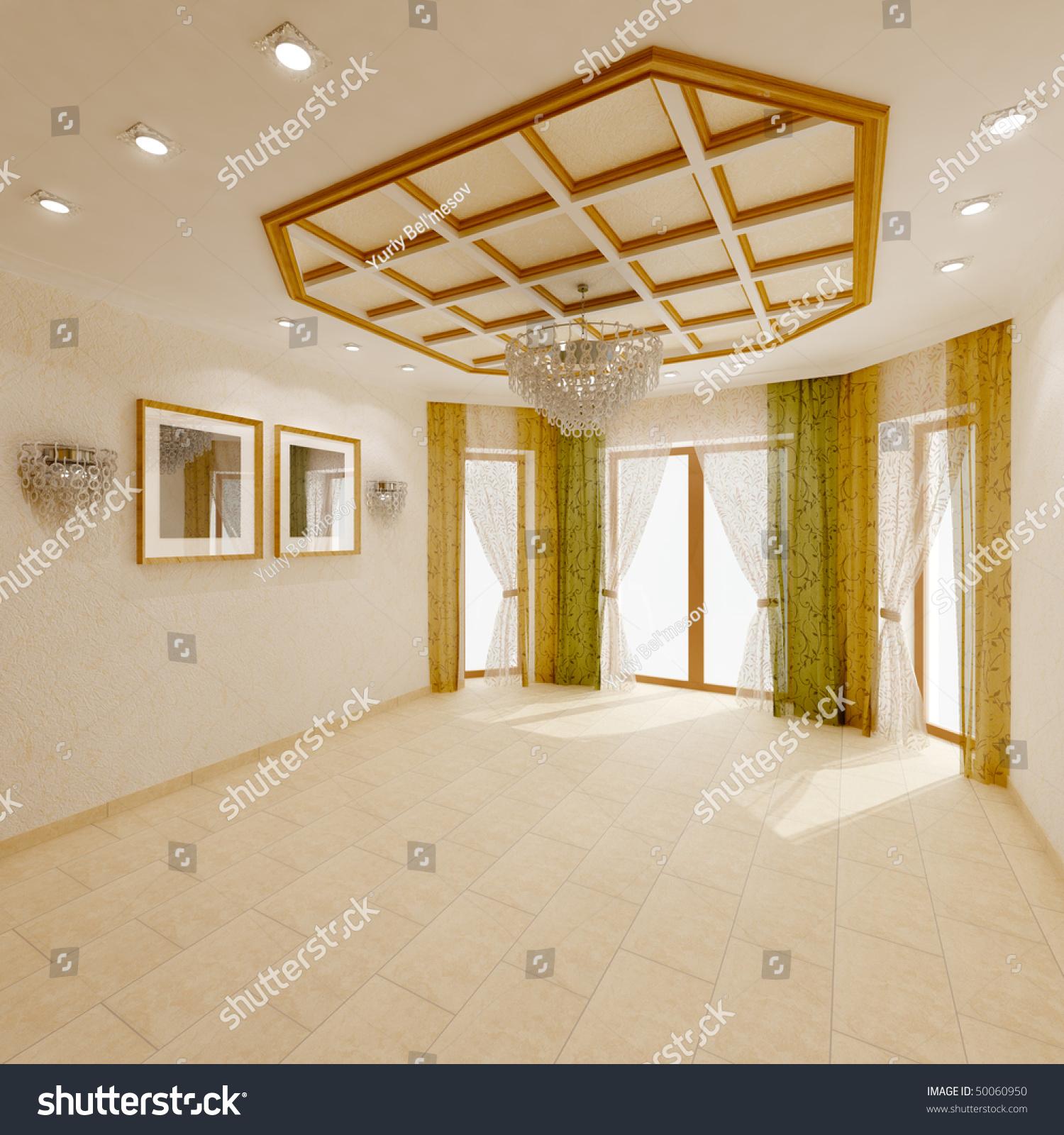 Empty Living Room: Empty Living Room Stock Photo 50060950 : Shutterstock