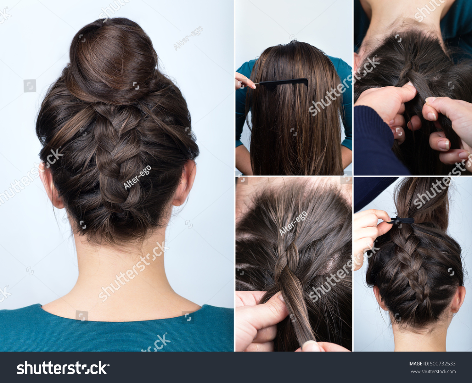 Tutorial Photo Step By Step Modern Stock Photo Edit Now 500732533