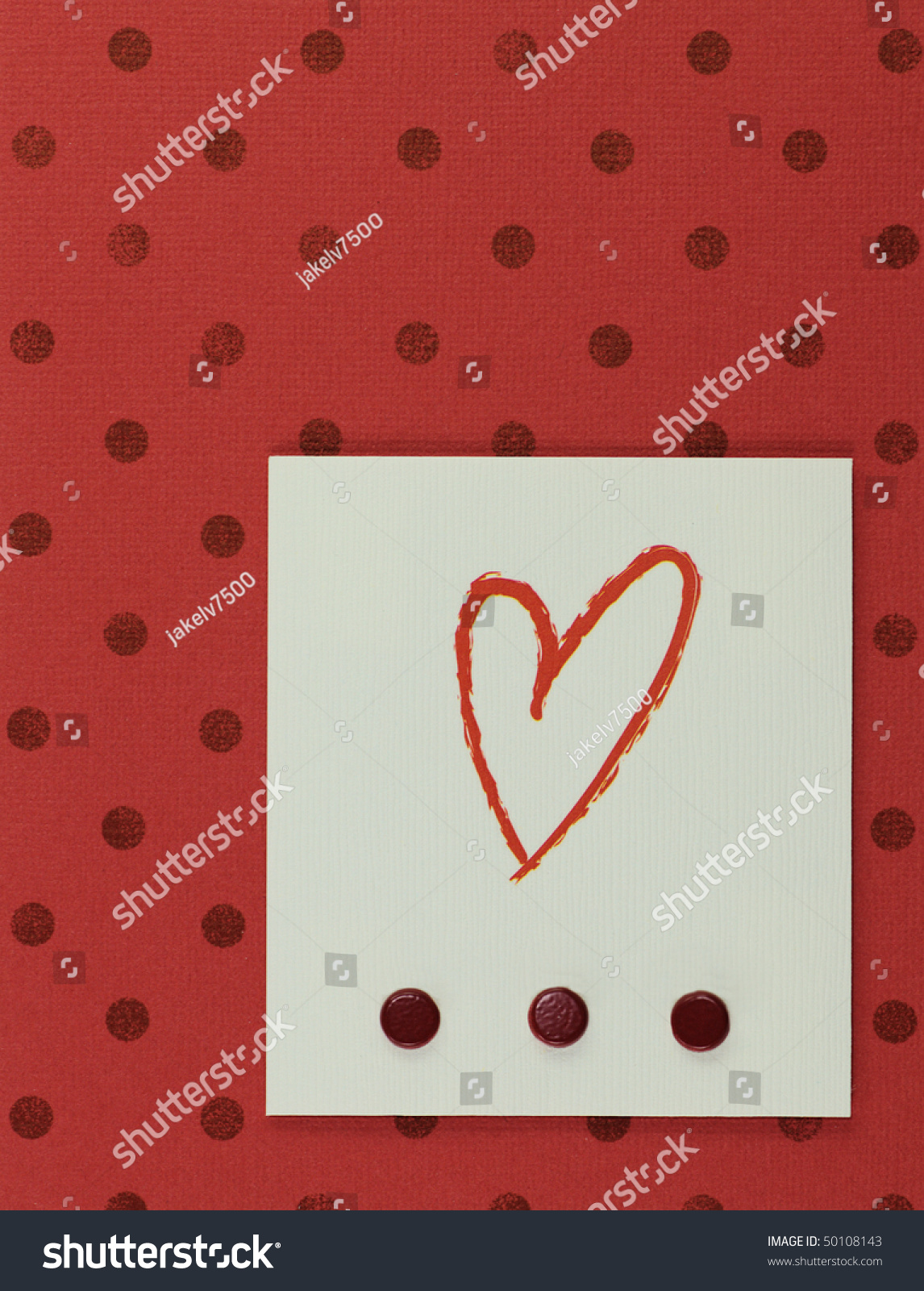 Paper craft greeting card face stock photo 50108143 for Craft paper card stock