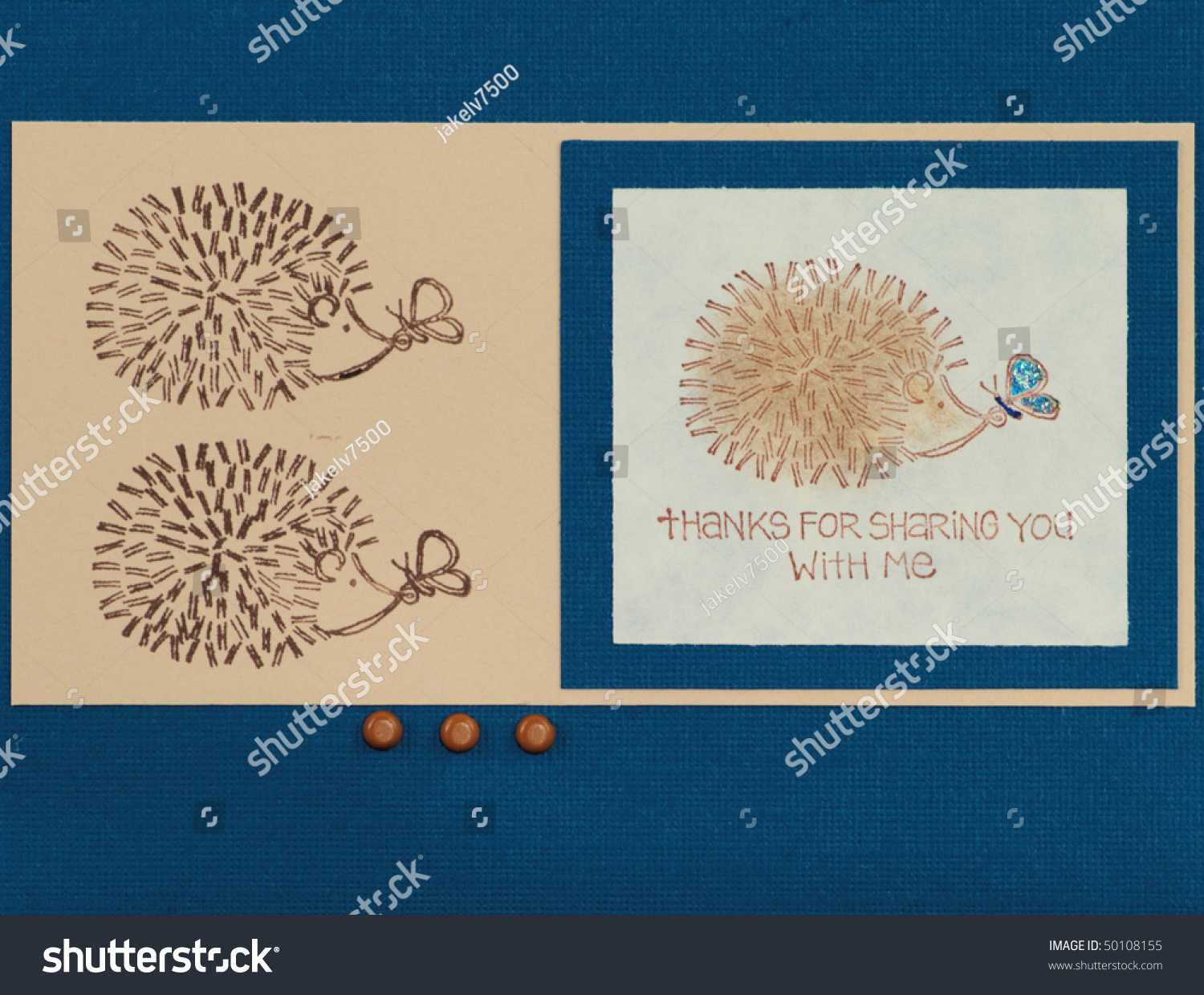Paper craft greeting card face stock photo 50108155 for Craft paper card stock