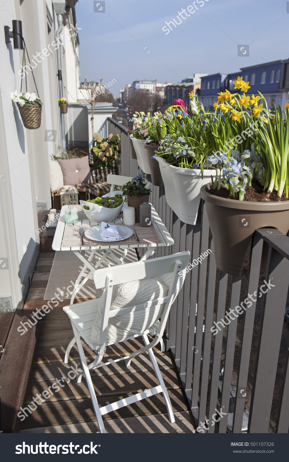 Potted spring flowers on sunny balcony stock photo royalty free potted spring flowers on sunny balcony stock photo royalty free 501107326 shutterstock mightylinksfo