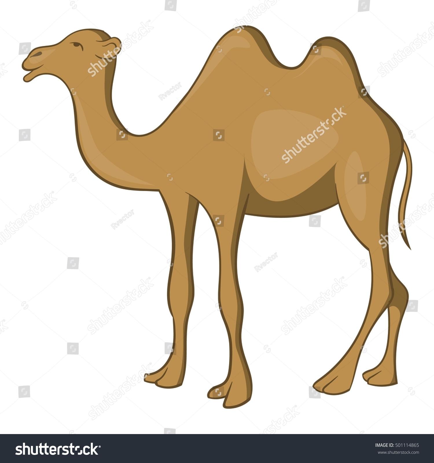 camel icon cartoon illustration camel vector stock vector