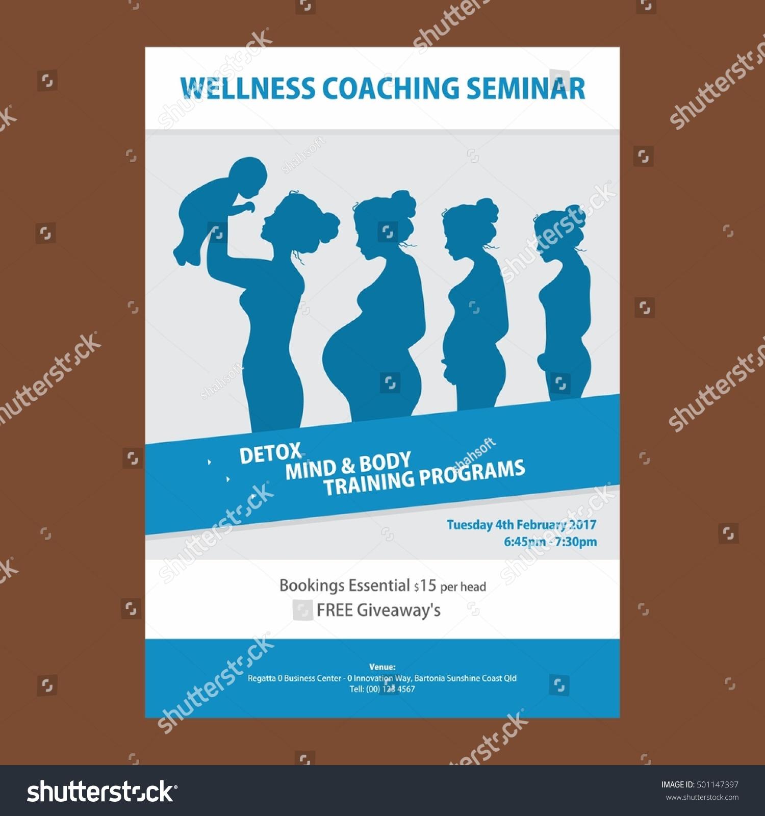 seminar flyer templates