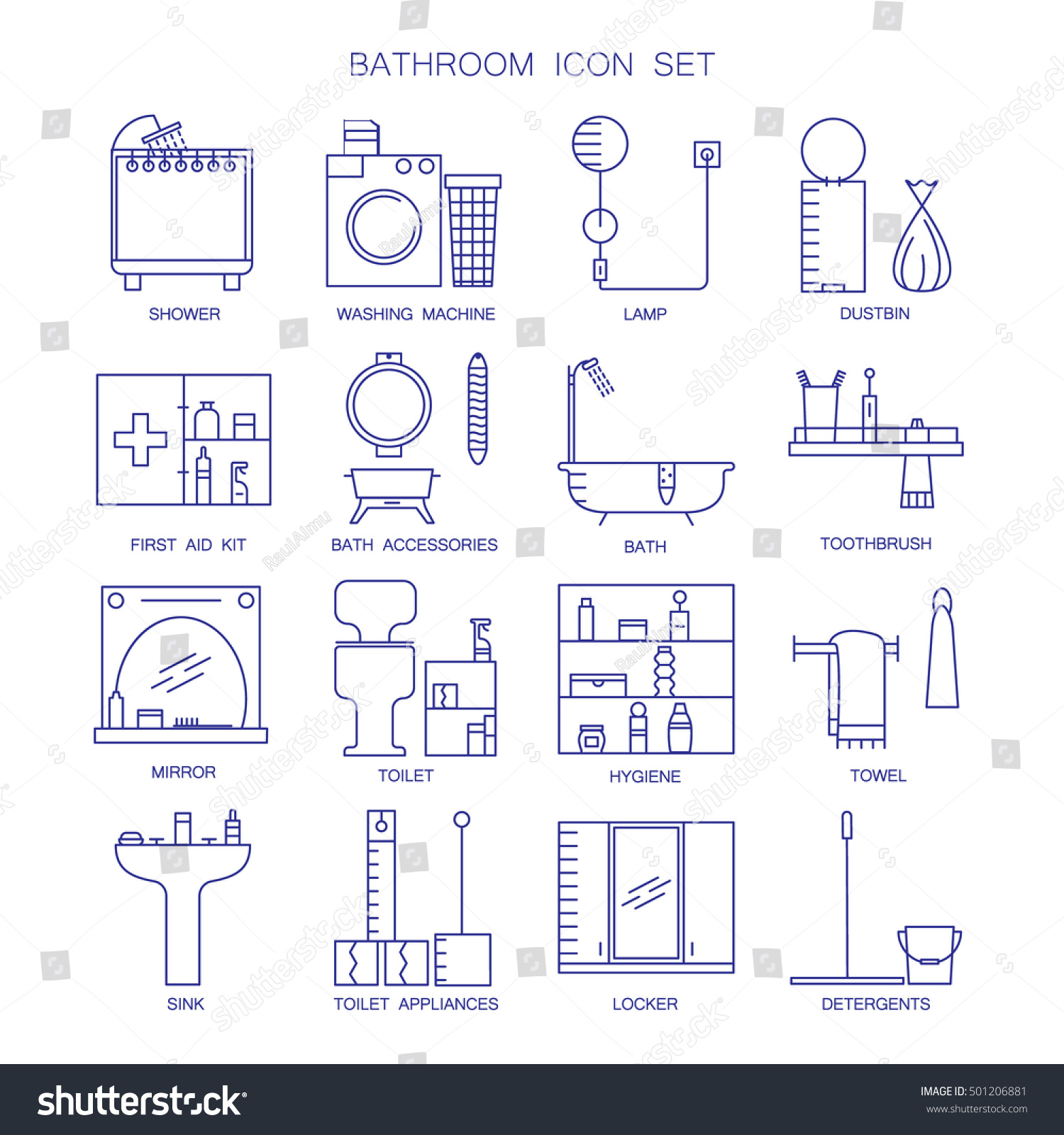 Toilet signs vector set stock images image 36323784 - Bathroom Icon Set Collection High Quality Stock Vector 501206881 Stock Vector Bathroom Icon Set Collection Of