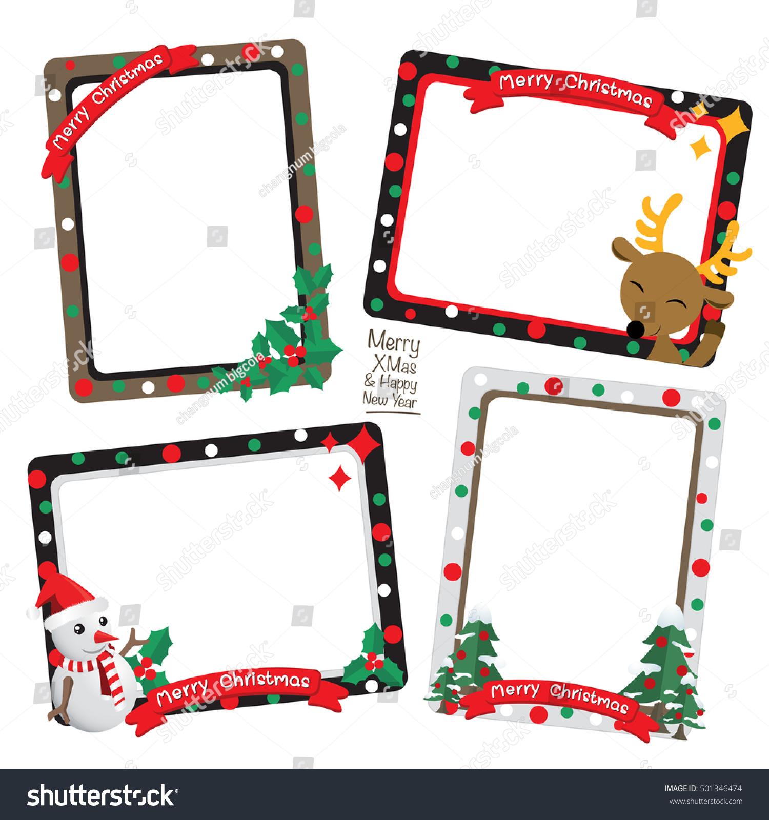 christmas greetings frames