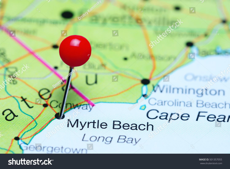 Httpsimageshutterstockcomzstockphotomyrtl - Myrtle beach map