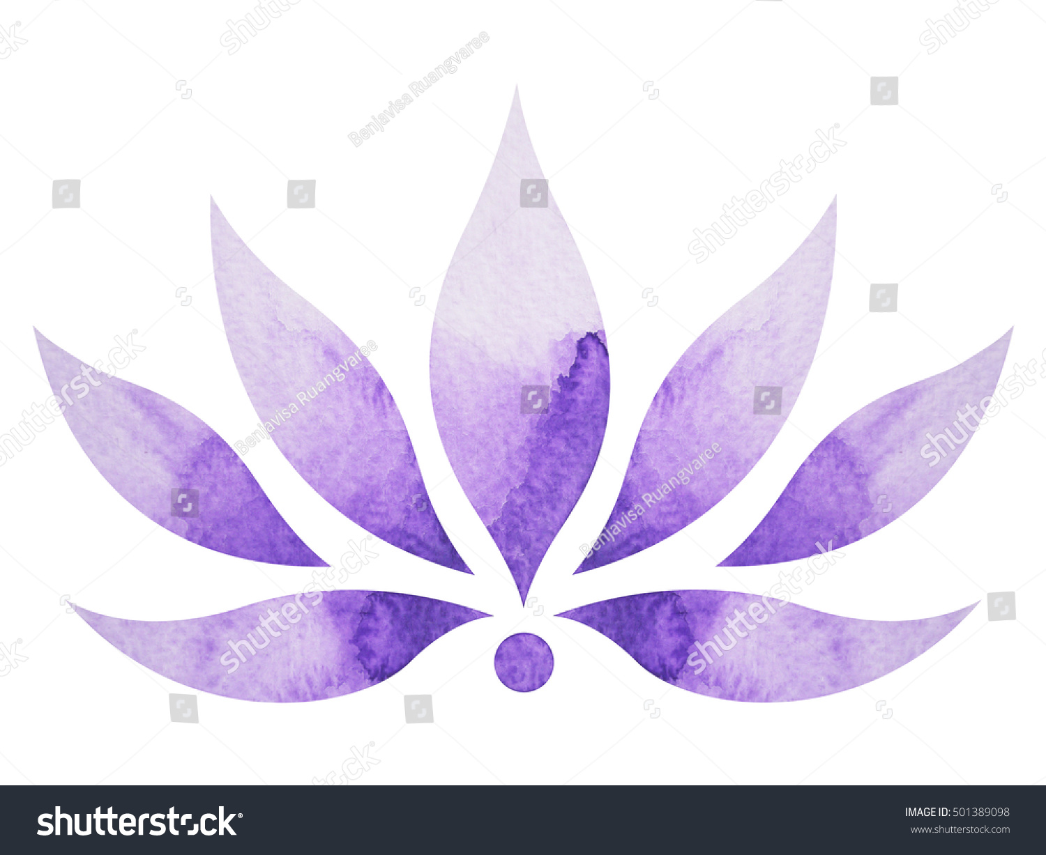 Crown chakra symbol concept flower floral stock illustration crown chakra symbol concept flower floral watercolor painting color hand drawn icon logo buycottarizona Image collections