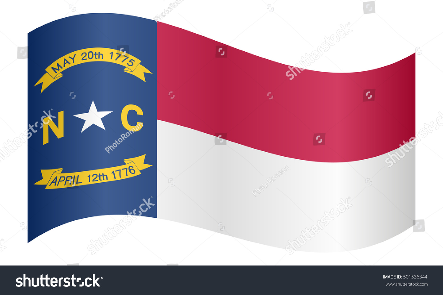 Flag us state north carolina waving stock vector 501536344 flag us state north carolina waving stock vector 501536344 shutterstock buycottarizona