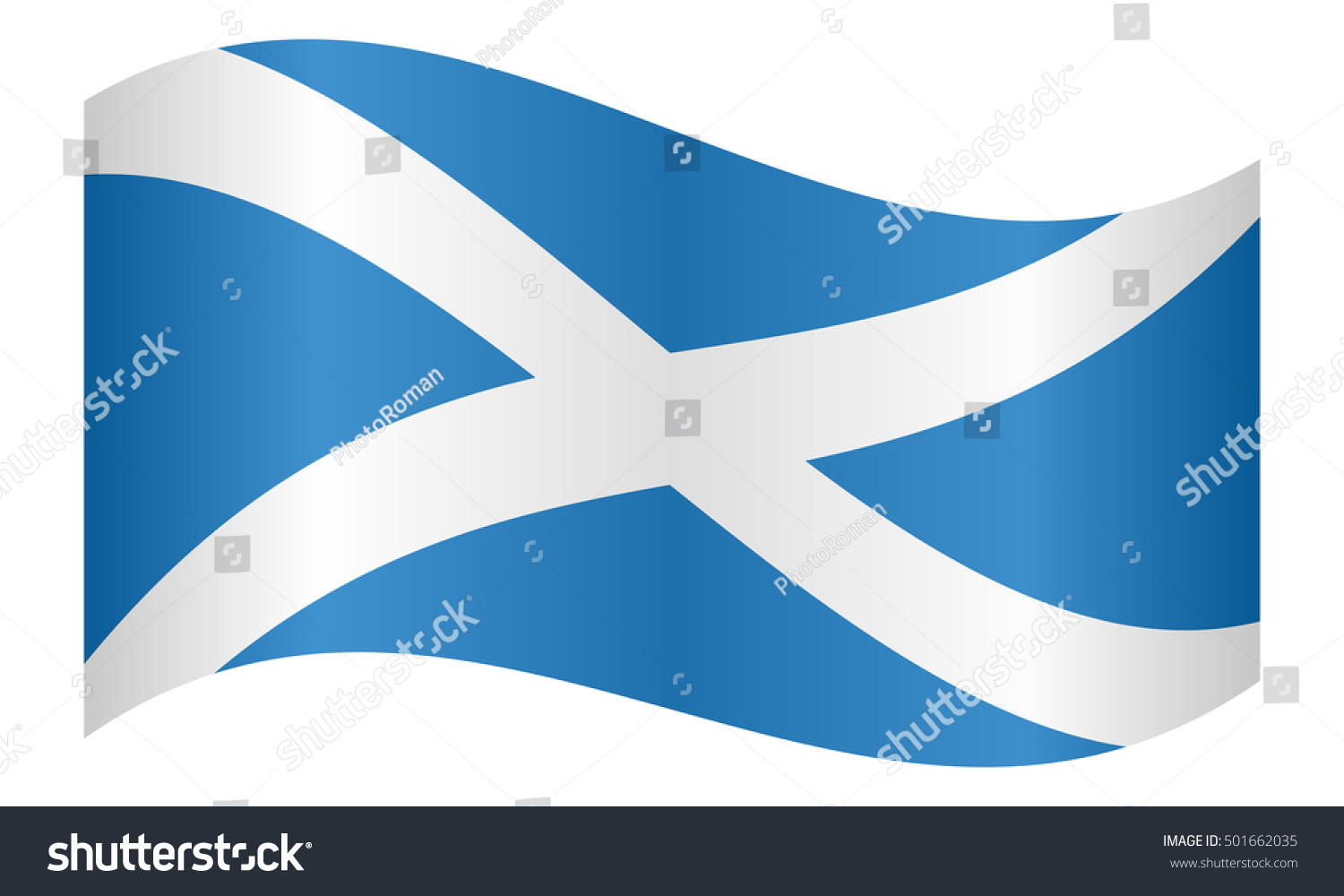 Scottish national official flag patriotic symbol stock vector scottish national official flag patriotic symbol banner element background correct colors biocorpaavc Choice Image