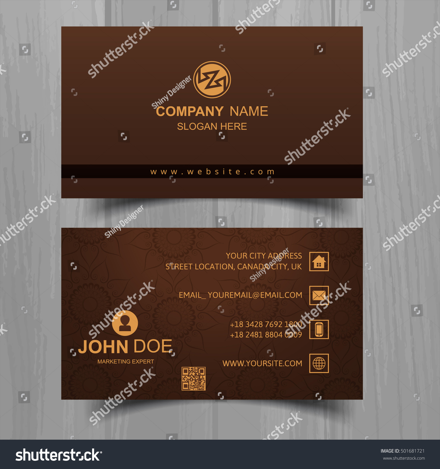 Colorful Business Card — Stock reference resume format call center