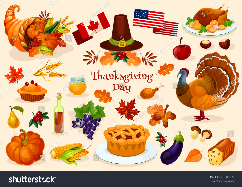 thanksgiving day vector elements thanksgiving celebration stock vector 501686185 shutterstock cornucopia clipart black and white cornucopia clipart black and white